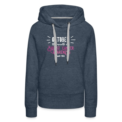 Breast Cancer Awareness Month Shirt Women Gift Tee - Women's Premium Hoodie
