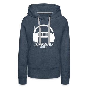 Trek Yourself Podcast Logo - Women's Premium Hoodie