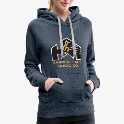 Harper Haus Music Company Full Color Logo - Women's Premium Hoodie