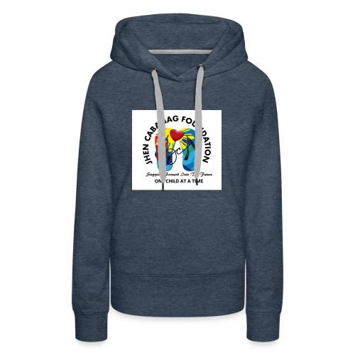 JHEN CABANAG FOUNDATION INTERNATIONAL Logo - Women's Premium Hoodie