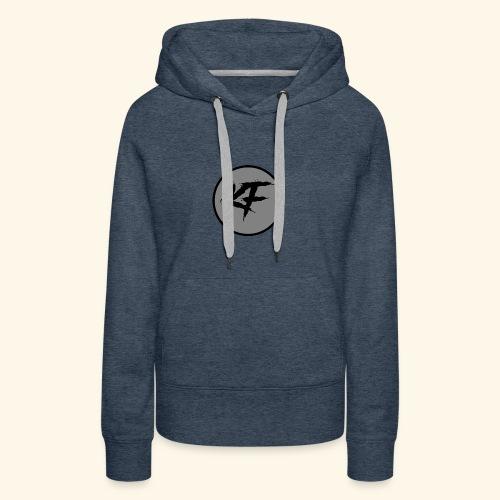 KF-Circle Logo - Women's Premium Hoodie