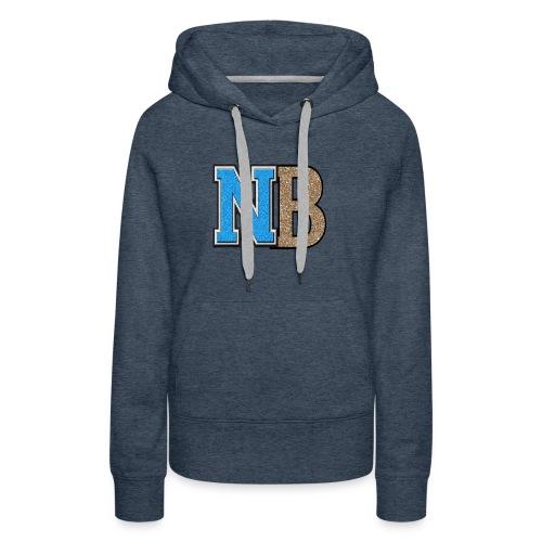nb logo png tr - Women's Premium Hoodie