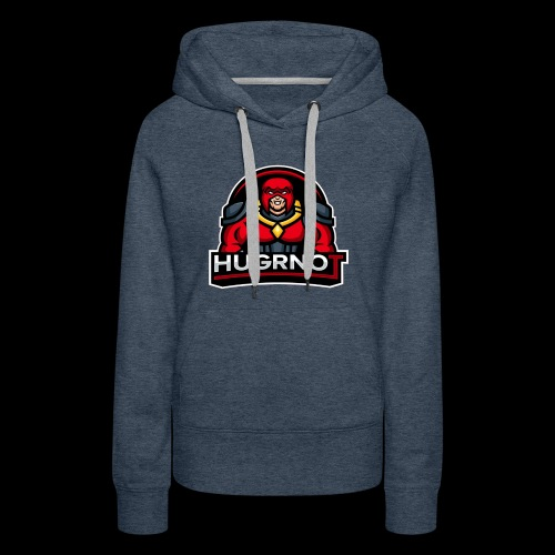Hugrnot Logo - Women's Premium Hoodie