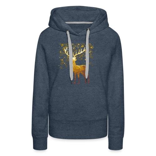 Deer Lover T shirt - Women's Premium Hoodie