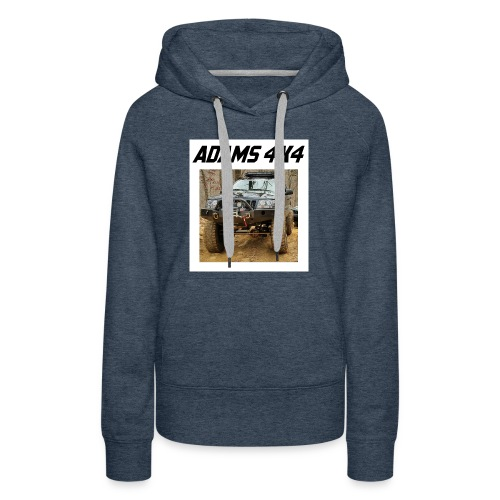 Adams4x4_Tshirt_1 - Women's Premium Hoodie