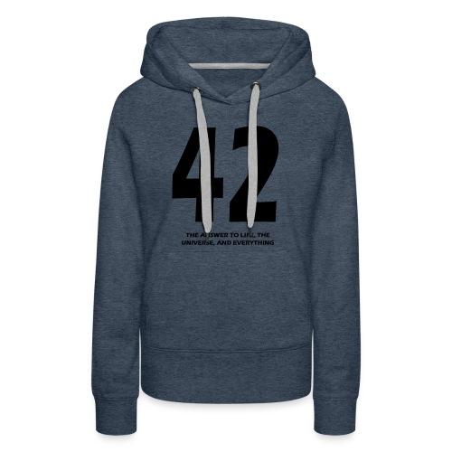 42 - Women's Premium Hoodie