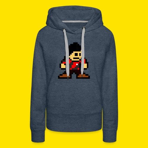 Kuna Mega Man Logo Unisex Tie-Die - Women's Premium Hoodie