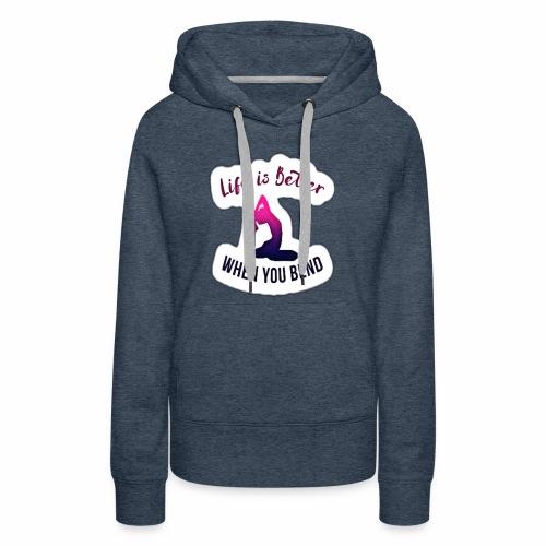 Yoga design apparels - Women's Premium Hoodie