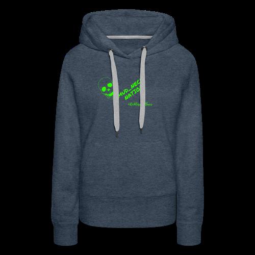 Mud_Neck Shirt - Women's Premium Hoodie