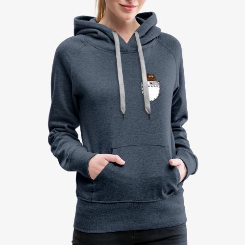 POCKET SQUIRREL - Women's Premium Hoodie