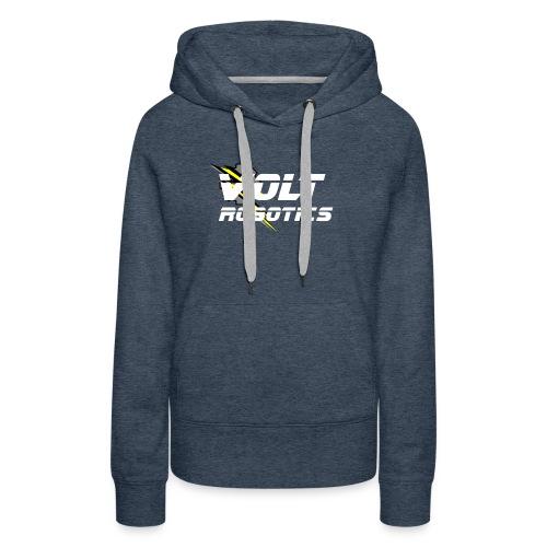 VOLT Robotics White Logo - Women's Premium Hoodie