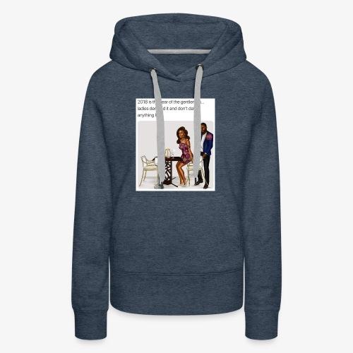 Classy lady - Women's Premium Hoodie