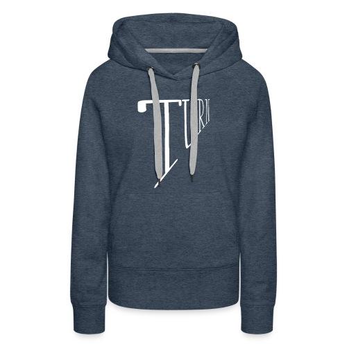 turn clothing co perspective white - Women's Premium Hoodie