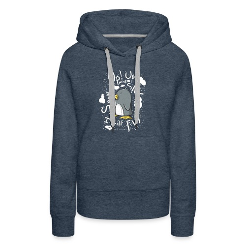 up up pinguin2 - Women's Premium Hoodie