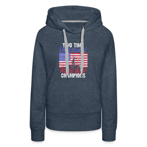 RETIRED ARMY: Undefeated War Champs - Women's Premium Hoodie