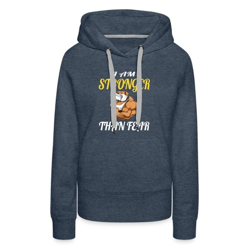 Im So Strong Because My Grampy With Me - Women's Premium Hoodie