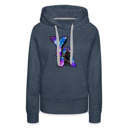 The Y/A Logo - Women's Premium Hoodie