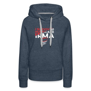 I Survived Hurricane Irma 2017- Men Women TShirt - Women's Premium Hoodie