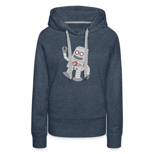 Showit Robot - Women's Premium Hoodie