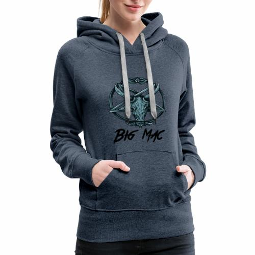 Big Mac Pentagram - Women's Premium Hoodie
