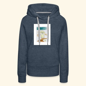 Traver and His Dog - Women's Premium Hoodie
