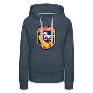 calfire logo T-shirt - Women's Premium Hoodie