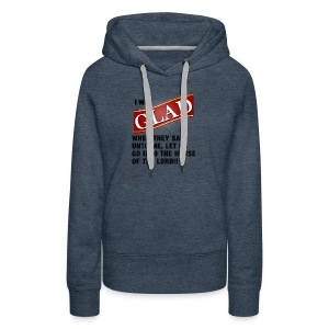 I was GLAD when they said unto me... - Women's Premium Hoodie