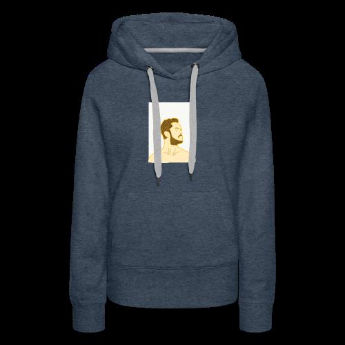 Fan art of Dan Reynolds - Women's Premium Hoodie