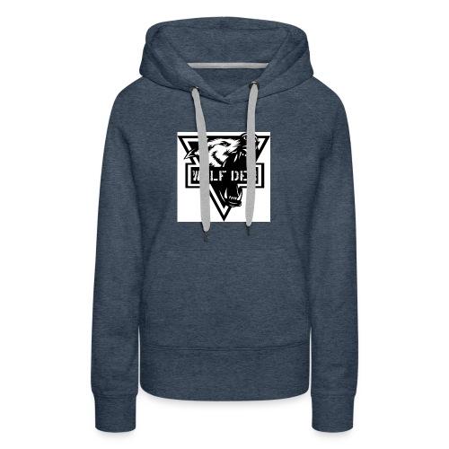 WOLF DEN - Women's Premium Hoodie
