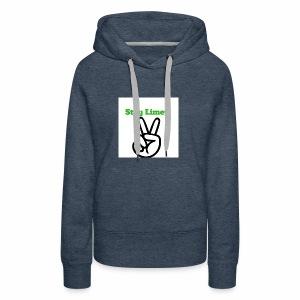 Peace Brand White - Women's Premium Hoodie
