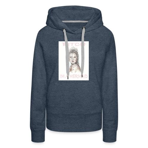 MermaidDeisgn_#1 - Women's Premium Hoodie