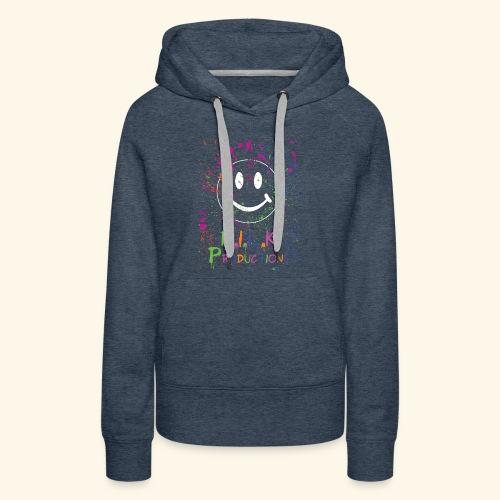 M.I.L.K. Color Splatter T-Shirt - Women's Premium Hoodie