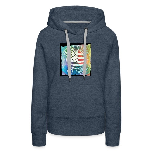 Made in U.S.A - Women's Premium Hoodie