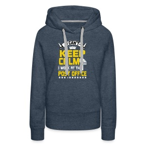 i work at the post office t shirt - Women's Premium Hoodie