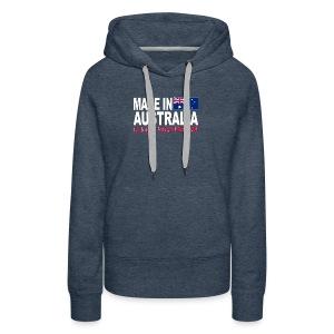 Made in Australia a long long time ago - Women's Premium Hoodie