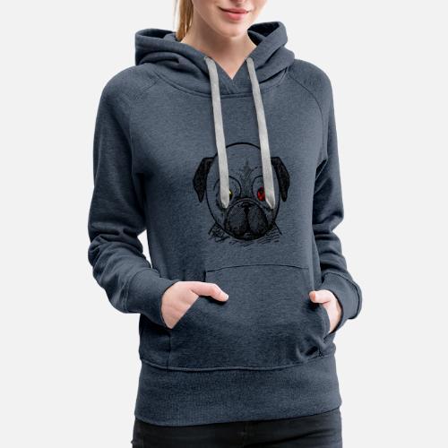 dog t-shirt - Women's Premium Hoodie