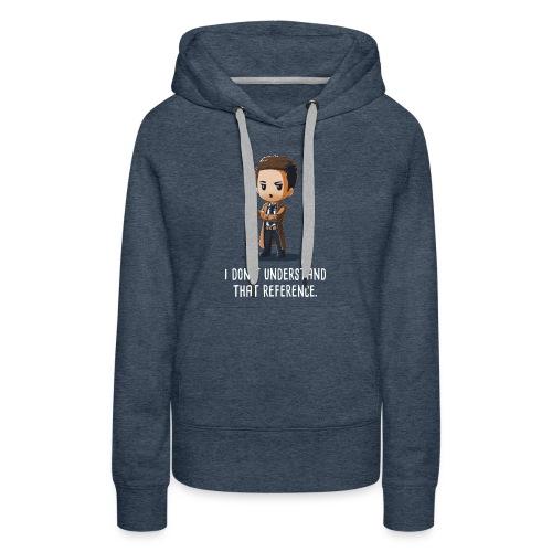 Castiel Supernatural - Women's Premium Hoodie