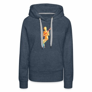 Melting Artist Without Fire - Women's Premium Hoodie