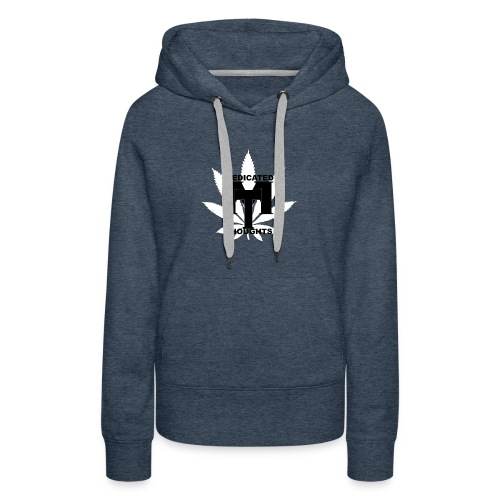 MEDICATED THOUGHTS - Women's Premium Hoodie