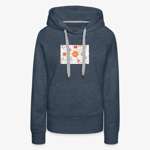 social media marketing - Women's Premium Hoodie