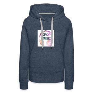 KPOP MUSIC - Women's Premium Hoodie