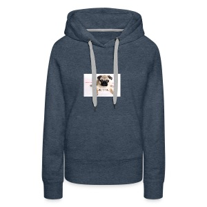 be a super pug savage merch - Women's Premium Hoodie