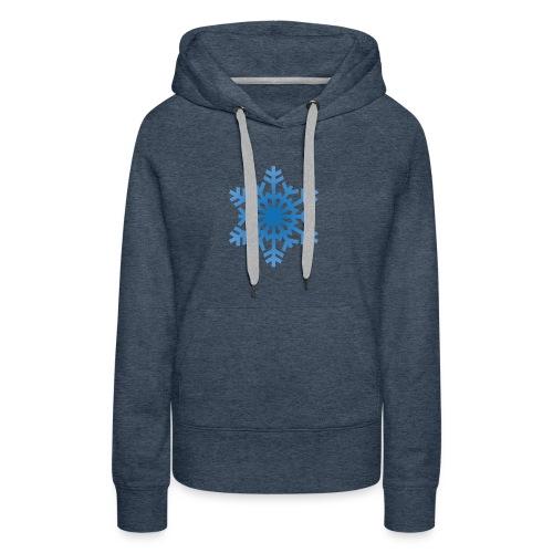 http-images-clipartpanda-com-snowflake-clipart-tra - Women's Premium Hoodie
