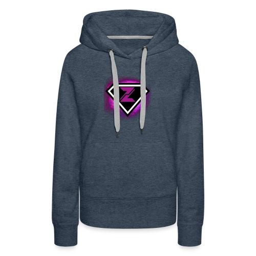 Zyanite Logo - YouTube - Women's Premium Hoodie