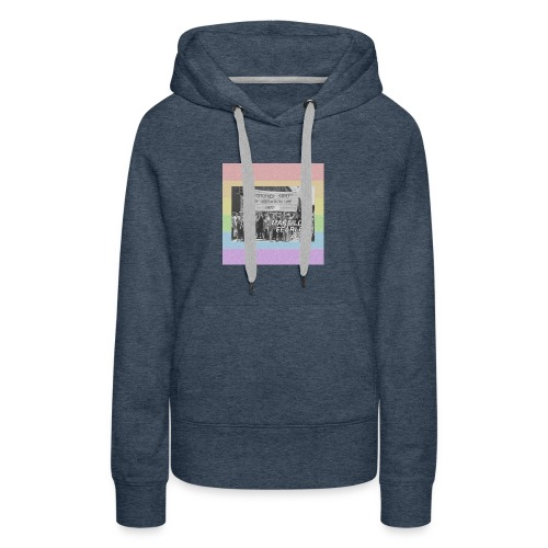 make love fearless again pins - Women's Premium Hoodie