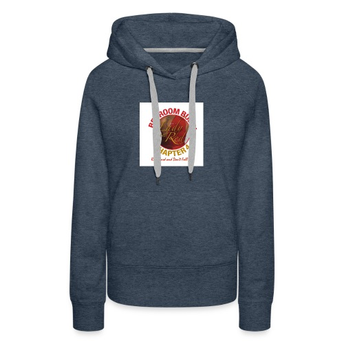 Lady in Red Bedroom Bully - Women's Premium Hoodie