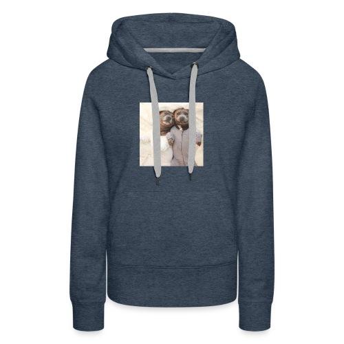 cute pitbull brothers - Women's Premium Hoodie