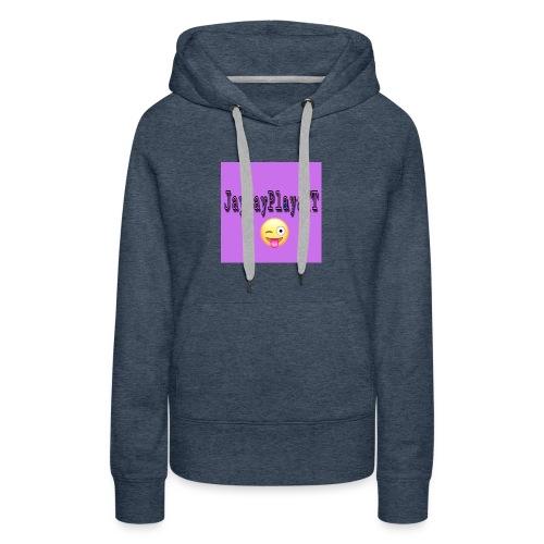 JayJayPlaysYT Shirts! Purple Glaze - Women's Premium Hoodie