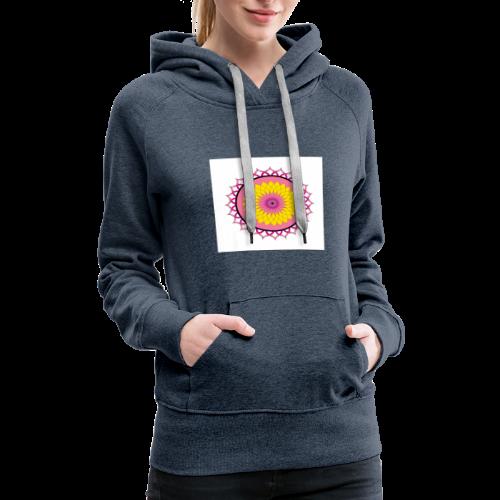 Lotus Flower Mandala - Women's Premium Hoodie