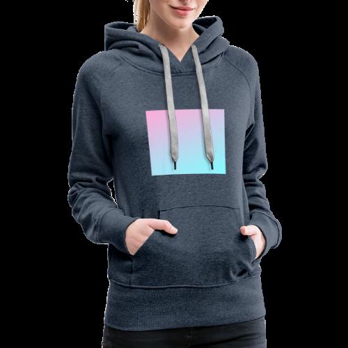 【gradient】 - Women's Premium Hoodie
